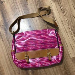 Fossil laptop/diaper bag
